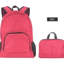 Samstrong Ultralight Travel Floding Bag Women Men Leisure Backpack Soft Storage