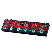 MOOER Red Truck Effect Pedal Modulation Delay Reverb Distortion Overdrive Boost Modules Built in Tuner Tap Tempo