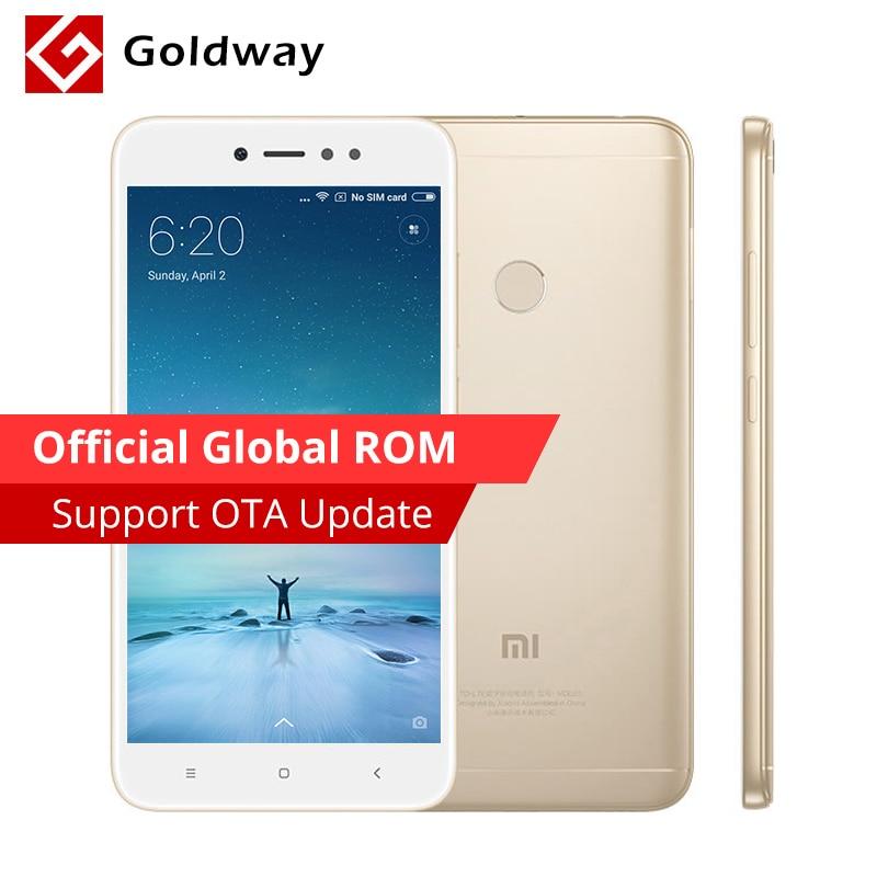 "Original Xiaomi Redmi Note 5A 4GB RAM 64GB ROM Mobile Phone Snapdragon 435 Octa Core 5.5"" 16.0MP Camera Fingerprint MIUI"