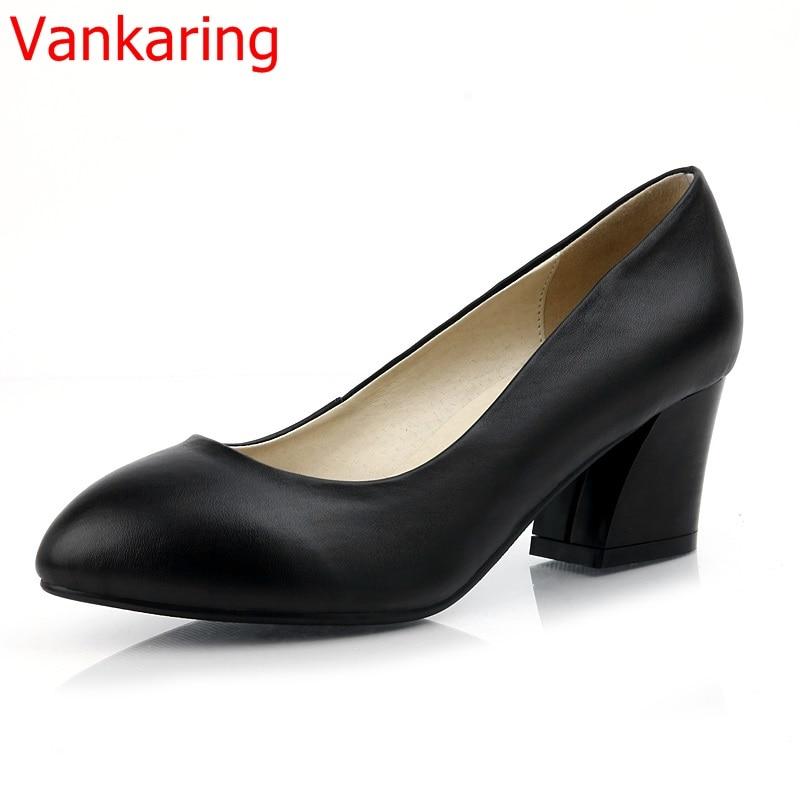 Stylish Comfortable Thick Heel