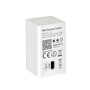 Image 2 - Milight YT1 WiFi Voice Afstandsbediening DC5V USB Smart 4G IOS Android APP Controller voor 2.4 GHz RGB CCT RGBW LED Strip Lamp