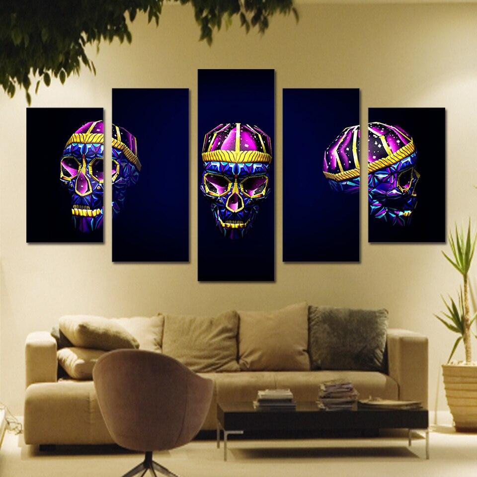 Modulaire Affiches Toile Hd D Impression Sur Lumineux Peinture L