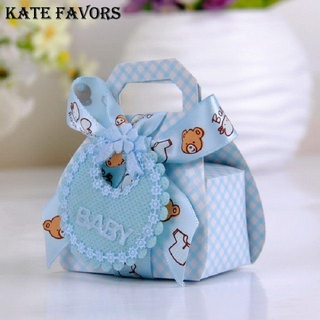 Bear Shape Diy Paper Wedding Gift Christening Baby Shower Party