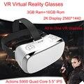 3 GB Ram VR todo en uno gafas Realidad Virtual gafas V3H 2 K pantalla S900 Quad Core 1,7 GHz 5,5 pulgadas 16 GB Rom Wifi 3D VR gafas