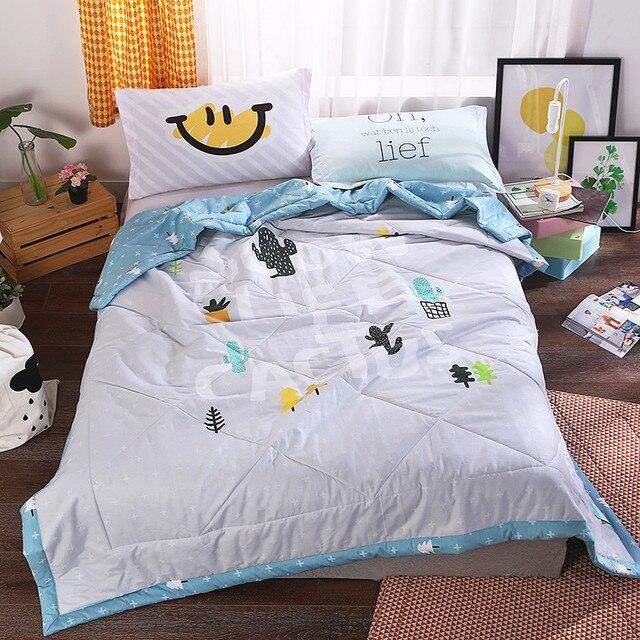 Western Style Quilting Comforter Summer Quilt Queen Size Blankets