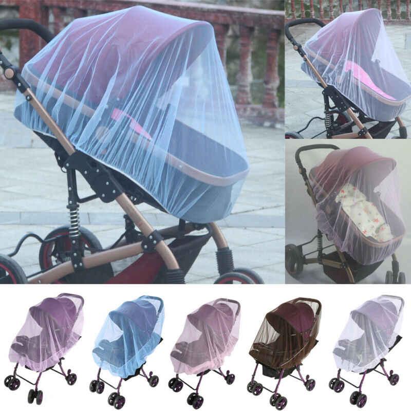 Cubierta de malla segura para asiento de coche para cochecito de bebé recién nacido Universal