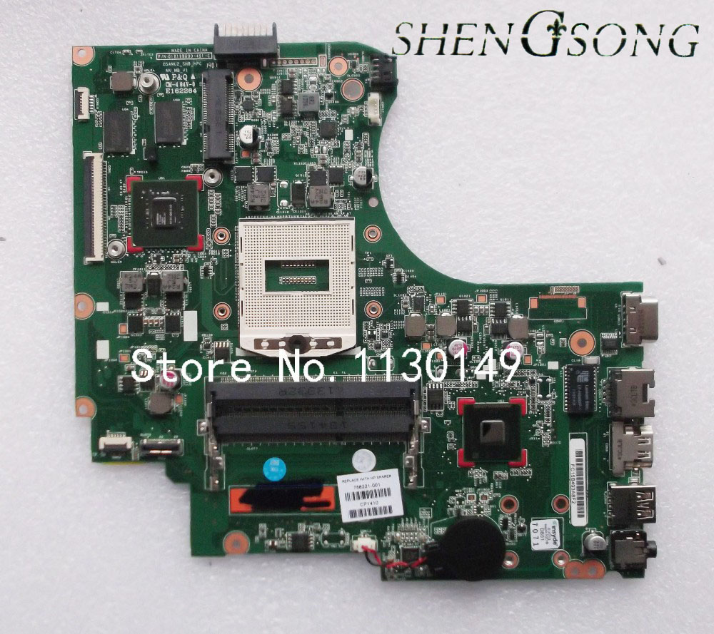 756221-001 756221-501 756221-601 for HP 15-d motherboard for HP 15-D101TX 250 motherboard HM86 820M/2G DDR3 Fully tested 744009 501 744009 001 for hp probook 640 g1 650 g1 motherboard socket 947 hm87 ddr3l tested working