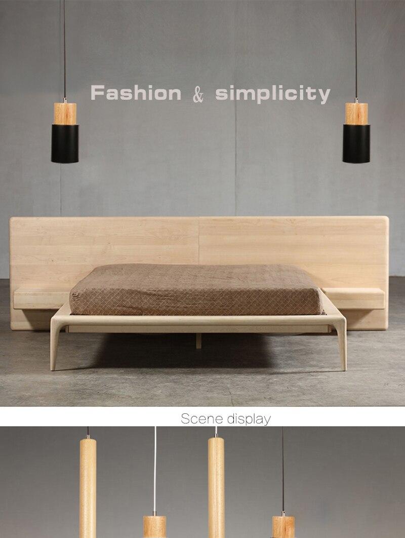 Modern lamp wood