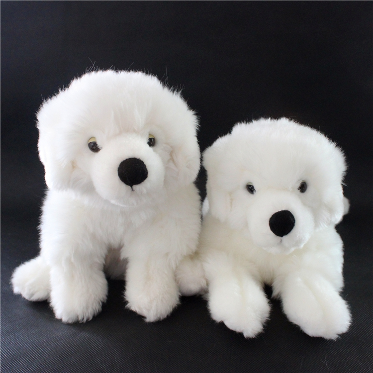 Stuffed Animals  Kids Toys  Simulation Bichon Dog  Gift Stuffed Toy Store  White  Samoyed Pups 80cm dog stuffed toys plush toy creative simulation doll white pattern dog home furnishings dog animal trade for kids gift