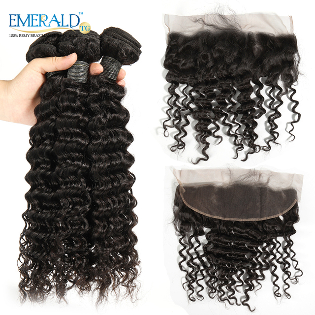 Bliss Hair Beautiful 13x4 Lace Frontal Closure Deep Curly With