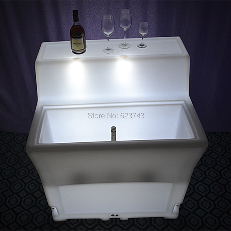 LED BAR Lumineux Table 6