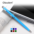 Stylus Pen 2 in 1 Styli Ballpoint Pens Touch Screen Capacitive Pen For Kindle iPhone Samsung Tablet Touch Screen Devices HTP-718