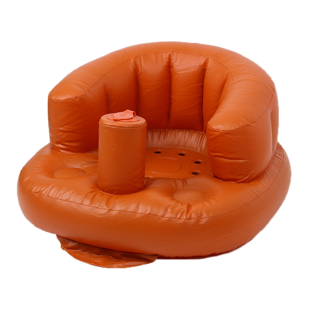 Inflatable Small Baby Bath Seat Child Sofa Chair Multi-function Seat Inflatable Portable Chair Baby Seat