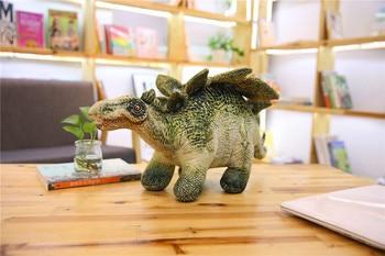 large 65cm simulation dinosaur Stegosaurus plush toy soft doll throw pillow Christmas gift w0735