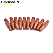 20pcs MIG NBC200 Spool Gun Torch Head Accessory Consumables Electric Tips for MIG MAG NBC Welding Machine(China)