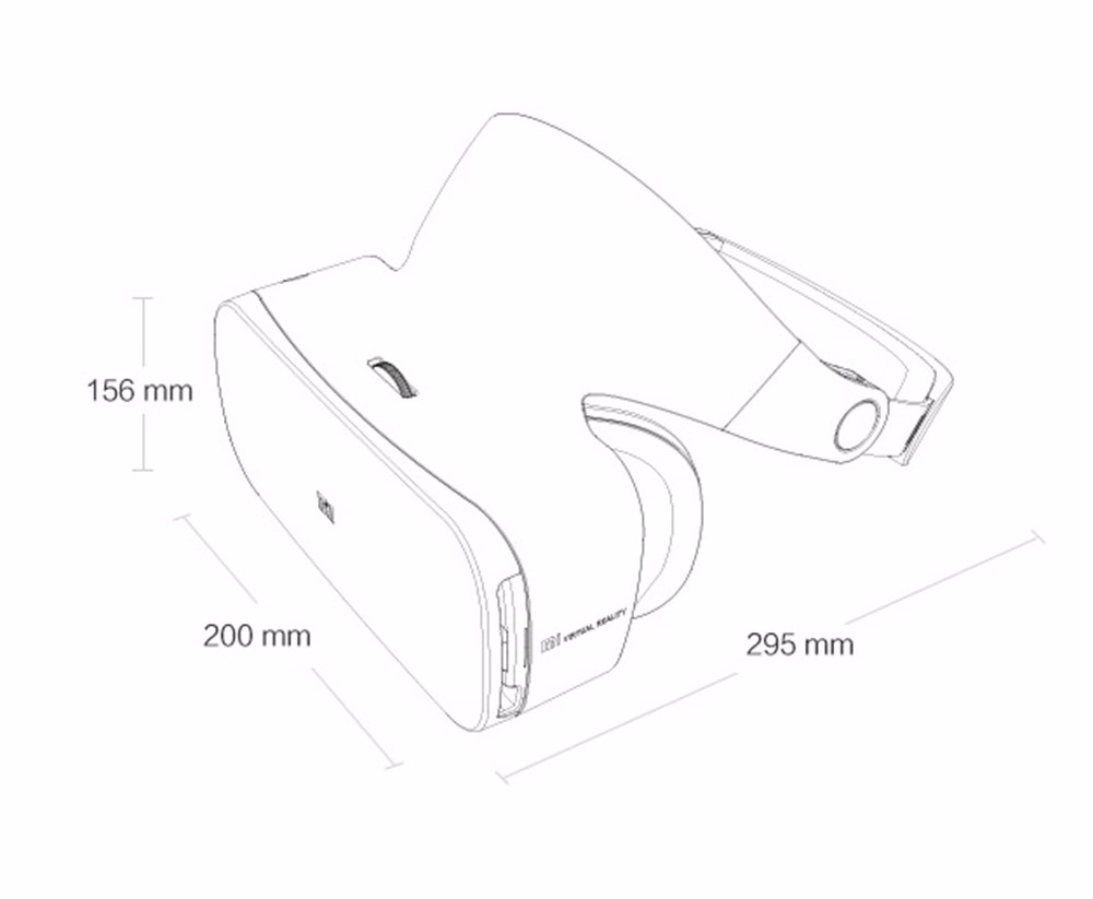 XIAOMI MI VR Headset 3D Glasses with 9-Axis Inertial Motion Controller VR for XIAOMI MI5/MI5S/5s Plus/Note 2/MI6 Smart phones 4
