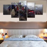 Modern Decorative Picture Printed Optimus Prime Comics Painting Wall Art Room Decor Print Poster Picture Canvas