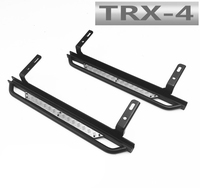 A pair rc car anti slip simulate side pedal for 1/10 crawler rc toys traxxas trx4 defender D90/110 remote control toy truck