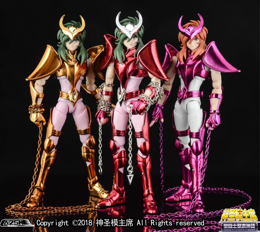 n aurora gt modelo final andromeda shun v3 ex bronze saint seiya figura de acao brinquedo