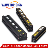 WaveTopSign CO2 RF Laser Module Synrad 10W Laser Tube Metal CO2 Laser Tube 10W SYNRAD J48 1 10W