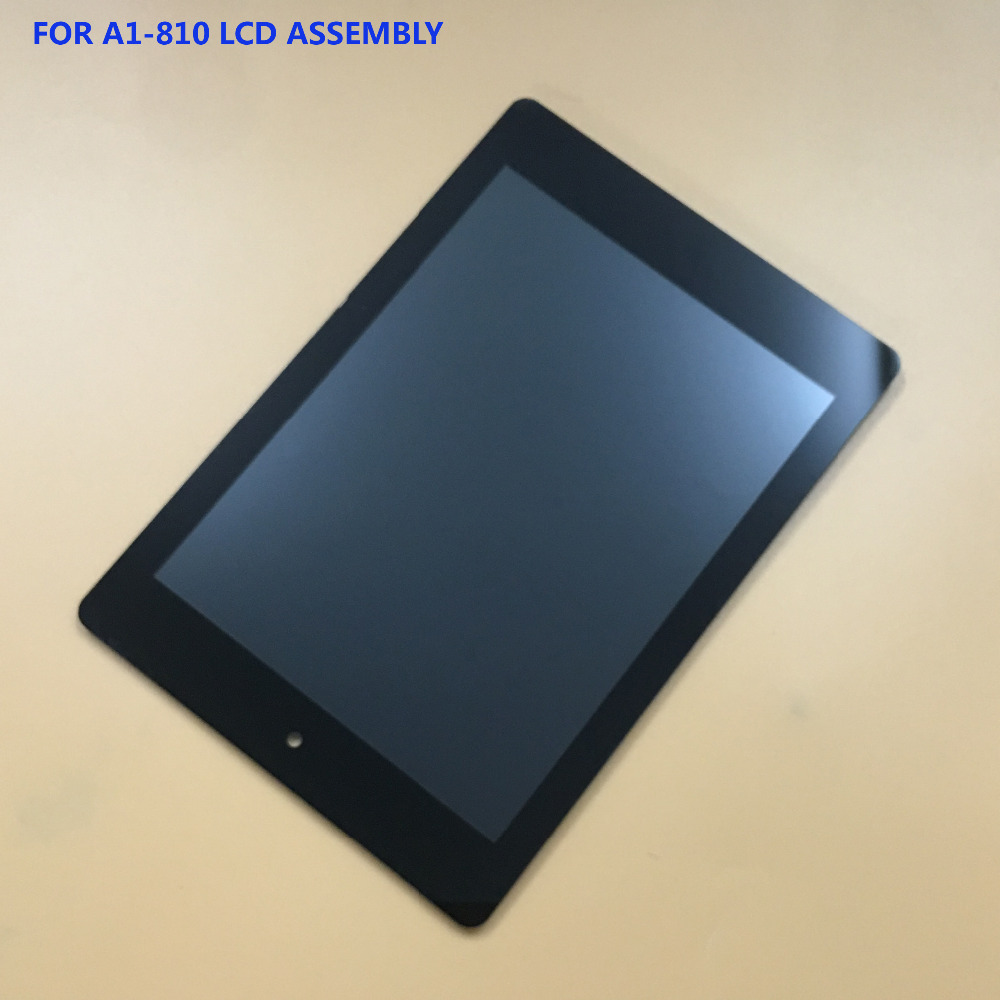Per Acer Iconia Tab A1-810 A1-811 A1 810 Black Touch Screen Digitizer Vetro + Display LCD Assembly Panel