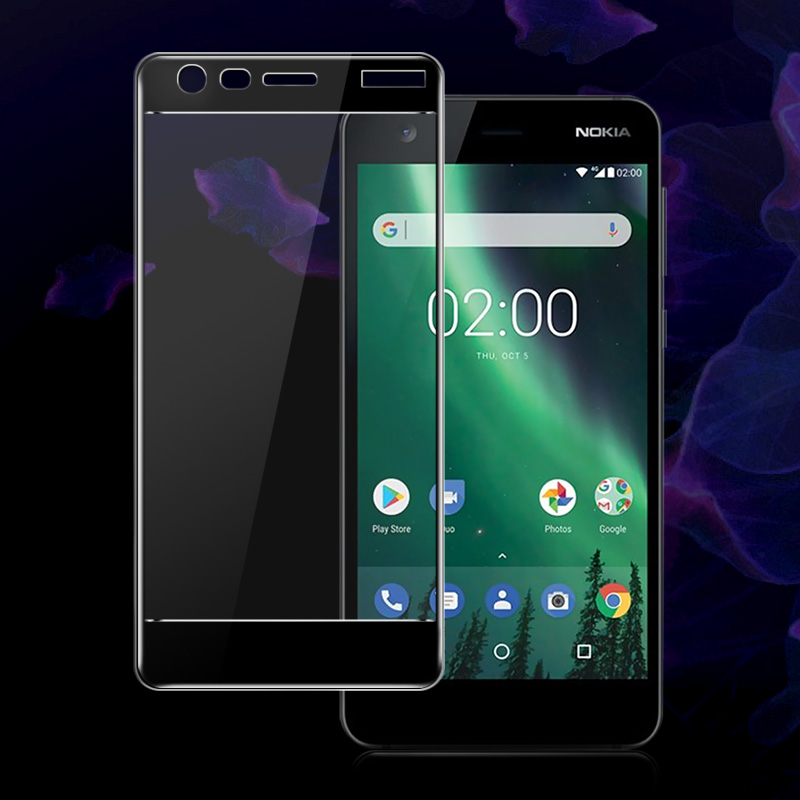 Imak Amazing 2.5D Screen Protector For Nokia 2 Full Cover Tempered Glass for Nokia 2 Nokia2 Dual Sim Protective Glass Film