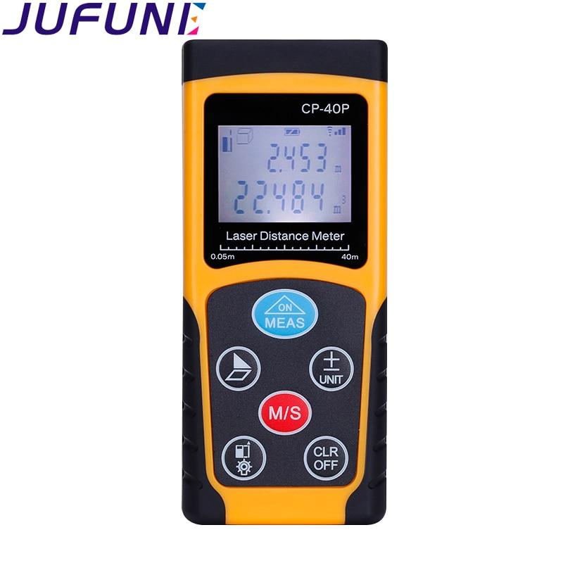 Jufune CP-40P 40m mini laserový dálkoměr digitální měřič pásky