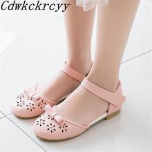 Новые летние модные женские сандалии с круглым носком для отдыха;