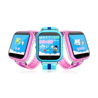 Q10 Russian/English Child Smart Watch GPS Tracker SOS Phone Call Pedometer 1.54inch Touch Screen Kids Watch for IOS & Android