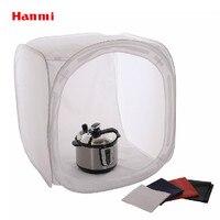 19 50cm Photo Studio Collapsible Box Light Cube Tent Diffuser 4 BACKDROP Black White Blue Red