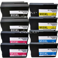 Refilled Ink Cartridge for hp953 XL BK C M Y for HP 7740 8210 8710 8715 8720 8725 8728 8730 8740 Printer стоимость