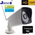 Câmera IP 720 P HD gravação em cartão de Memória Sem Fio CCTV Início Vigilância câmeras de Segurança P2P Mobile Remote View Mini Ip Cam