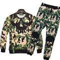2016 Newest Fashion Men/Women Sweatshirt Camouflage Printed Men's Tracksuits Outwear Casual Pullovers Sweat Suit Drop Shipping