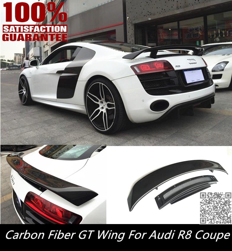 Aliexpress.com : Buy FOR R8 GT WING SPOILER CARBON FIBER