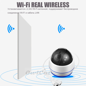 Image 2 - Full HD 2MP 5MP Security Indoor Dome IP Camera 5x Zoom Rotating Audio With Microphone Flash Card P2P ONVIF Motion