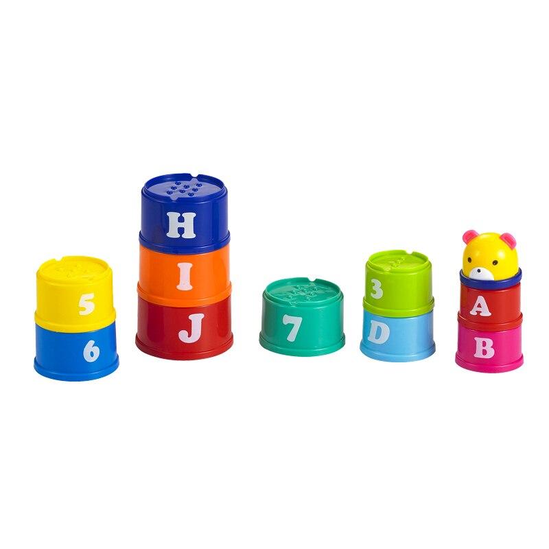 11pcs Baby Building Blocks Ойыншықтар Балалар - Дизайнерлер мен құрылыс ойыншықтары - фото 5