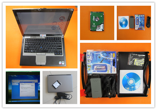 vas 5054 oki full chip bluetooth vas5054a odis v 4.4.10 installed in for dell d630 laptop ready to use Diagnostic Tool Scanner