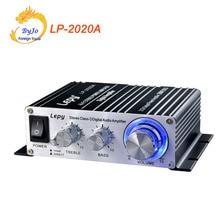 Lepy LP 2020A HiFi Digital Mini Audio Stereo Amplifiers 20Wx2 Home Car Amplifier+ Power Adapter