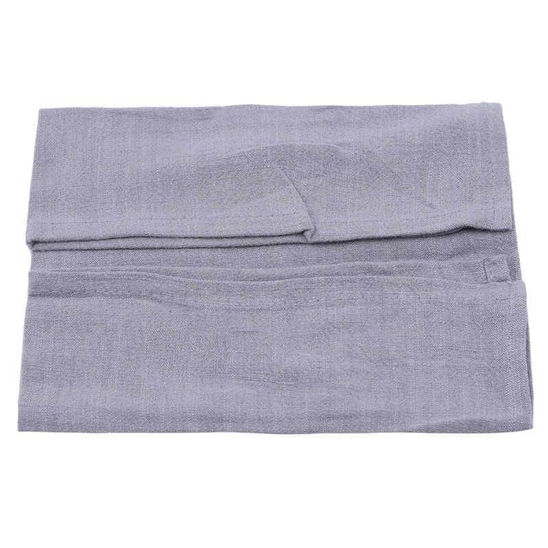 Servilletas de lino de algodón liso de alta calidad toallas de té buena absorción de agua paño de cocina para el hogar