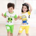 clothing set T-shirts Summer Kids Boys T Shirt Shorts Set Children Short Sleeve Shirt Clothing Set Kids Boy Sport Suit Outfit