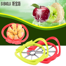 hot deal buy apple cutter knife corer fruit slicer handle easy apple peel wedge divider kitchen cooking vegetable tools chopper free shipping