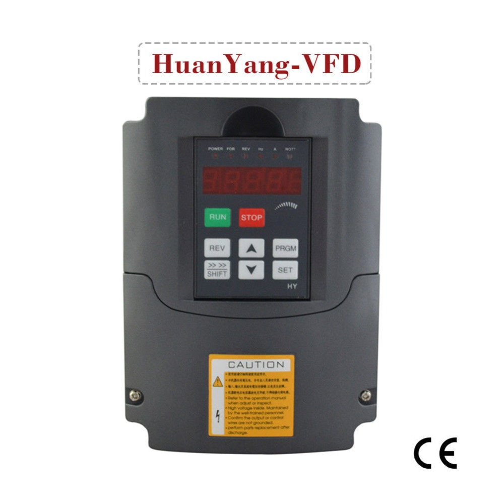 frequency Inverter 4HP <font><b>3kw</b></font> power 13A 1 phase input 3 phase output variable frequency drive inverter <font><b>motor</b></font> speed controller vfd image