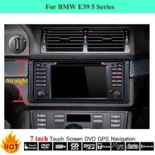 Touchscreen Autoradio Gps-navigationssystem Für BMW E39 520i 530i M5 Alt 5 Serie Mit Bluetooth/RDS/FM/AM/Can bus/DVD-Player