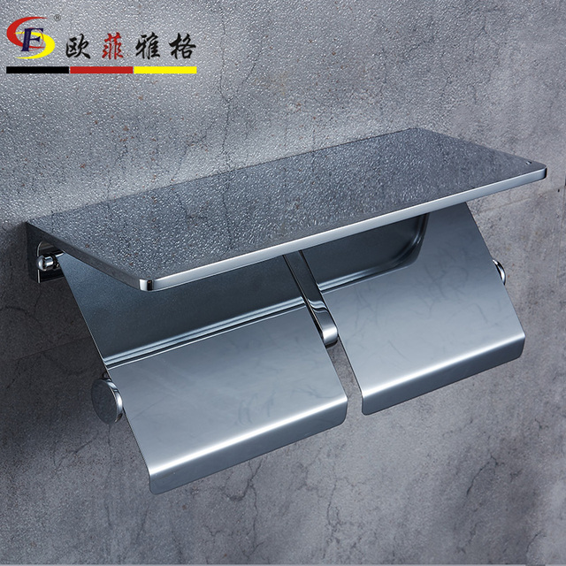 AUSWIND Modern 304 stainless steel polish Square base silver paper ...