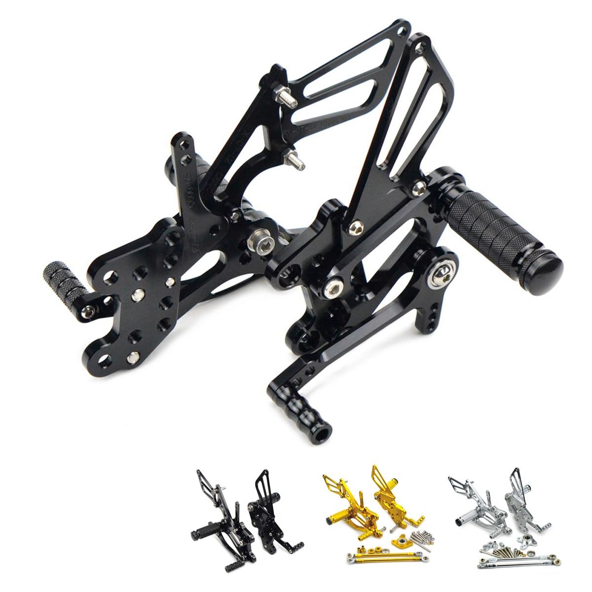 Adjustable Rearsets Footrest Foot Pegs Rear Set For Honda CBR600RR 2003 2006 CBR1000RR 2004 2007 CBR 600RR 1000RR 600 1000 RR
