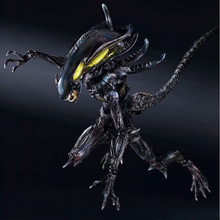 PA change Alien colonial team Alien warrior VS vomiting can do hand ornaments 28cm marvel steel chivalrous limit edition spider bat hand do pa change superman die paternity can action figure schoolboy gift