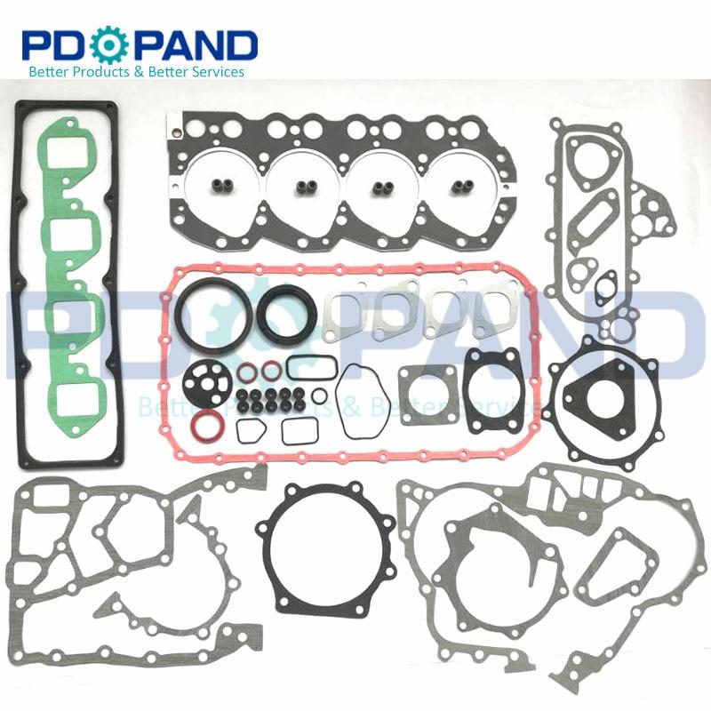 TD27 10101-43G85 TD27T Revisão Do Motor Reconstruir Junta Conjunto Completo para Nissan TERRANO/MISTRAL 4WD Para Ford MAVERICK VAN 2.7TD