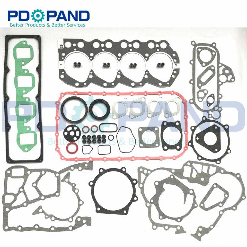 TD27 TD27T remont silnika przebudowa pełny zestaw uszczelek 10101-43G85 dla Nissan TERRANO/MISTRAL 4WD dla Ford MAVERICK VAN 2.7TD