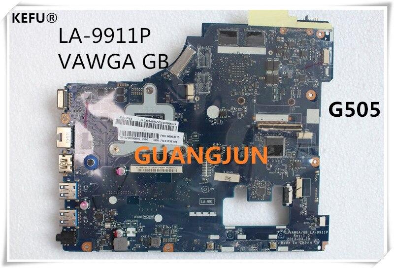 KEFU pour Lenovo G505 ordinateur portable carte mère VAWGA/GB LA 9911P avec CPU testé fonctionnant-in Cartes mères from Ordinateur et bureautique on AliExpress - 11.11_Double 11_Singles' Day 1