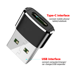 Robotsky USB Male to USB Type C Female OTG Adapter Converter Type-c Cable Adapter For Nexus 5x 6p Oneplus 3 2 USB-C Data Charger
